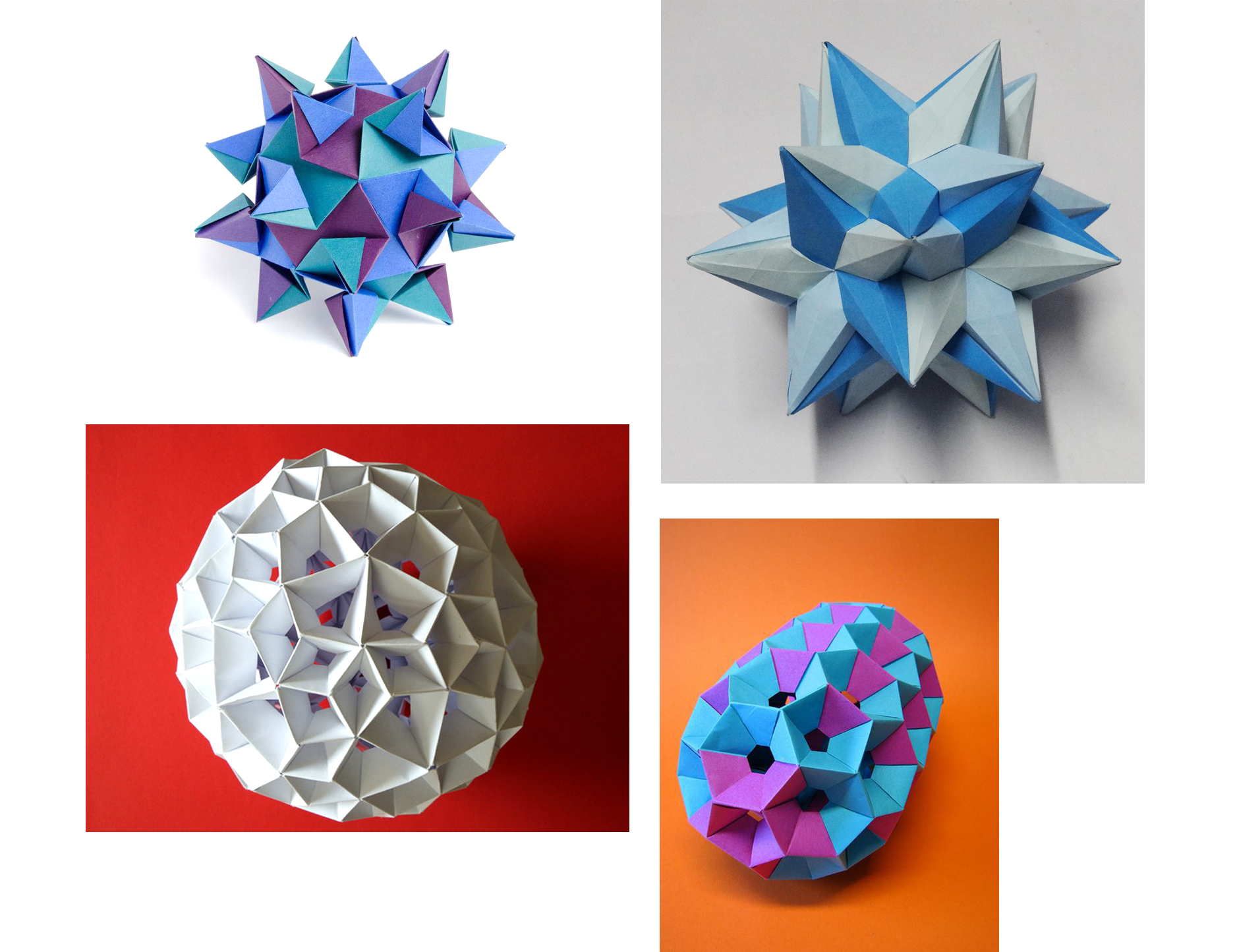 95 Best Modular Origami Instructions images in 2020 | Modular ... | 1445x1874